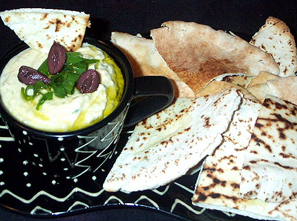 Green Onion Hummus