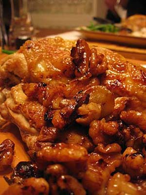 Imbb23 viva la france chicken with walnuts poulet aux noix chicken forumfinder Images