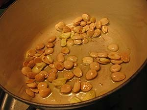 Potato Soup With Fried Almonds Recipe — Dishmaps