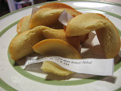 fortune cookies