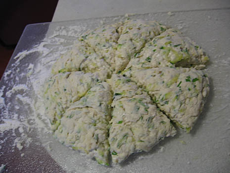 zucchini scones