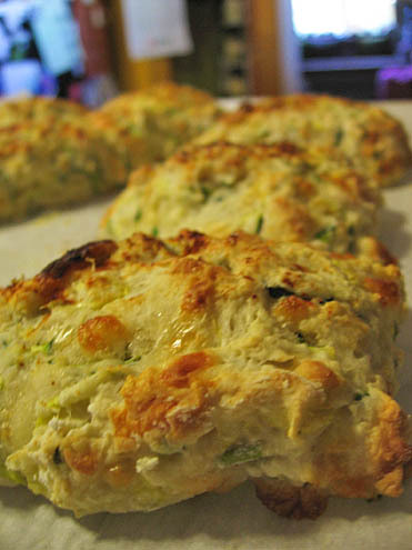 zucchini scones