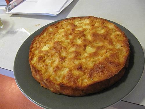 FFwd #5: Marie-Helene's Apple Cake