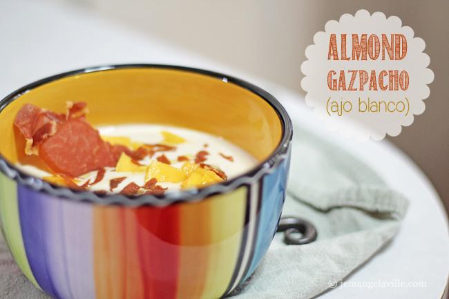 Almond Gazpacho (Ajo Blanco)