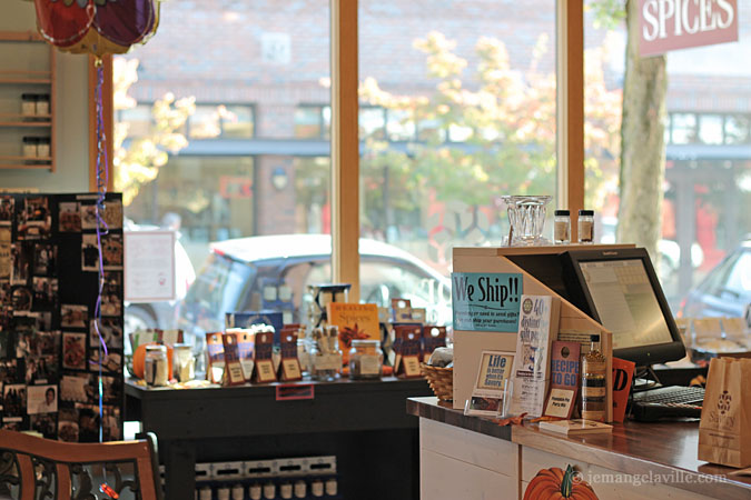 Savory Spice Shop in Sellwood + Ghostly Spiced and Roasted Pumpkin (or Squash) Seeds