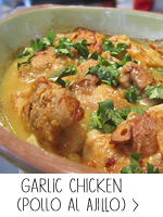 Spanish Garlic Chicken (Pollo al Ajillo)