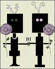 robot couple